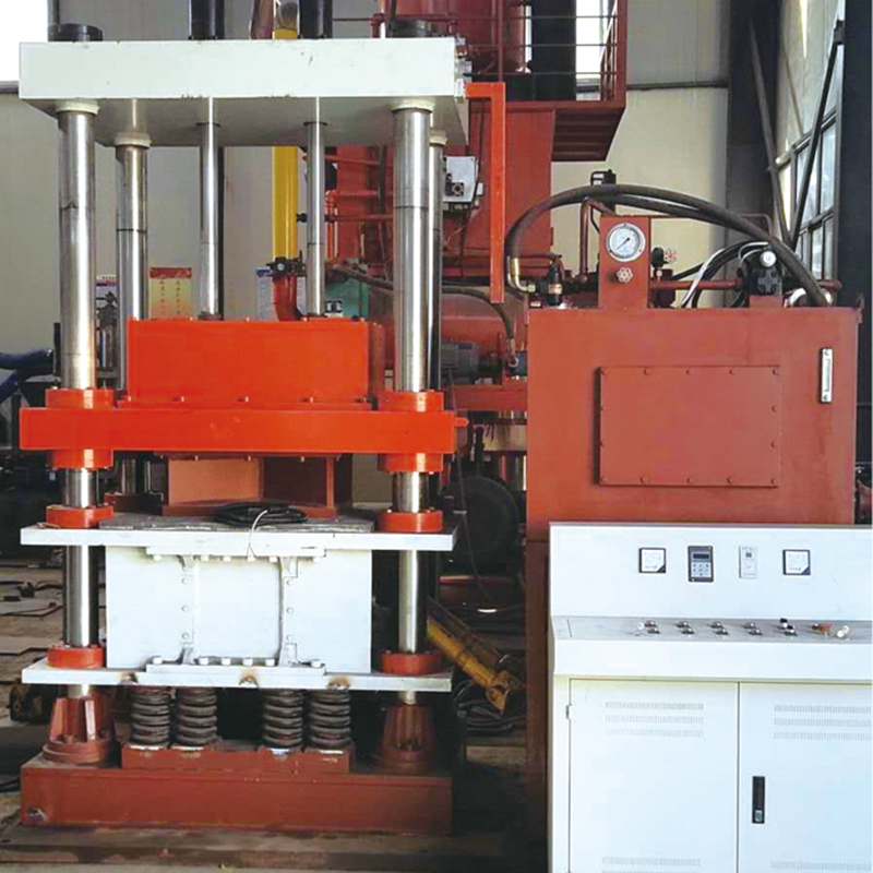 500T vibration hydraulic press