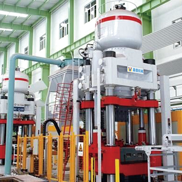 SD series refractory automatic hydraulic press